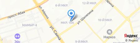 Базар 1 на карте Алматы