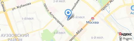 Магнит минимаркет на карте Алматы