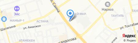 Техгазсервис-Тау на карте Алматы
