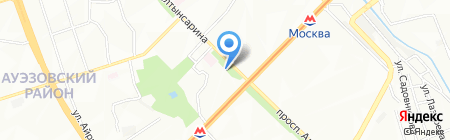 Modern на карте Алматы