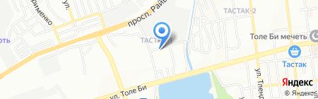 Avto-Maks на карте Алматы