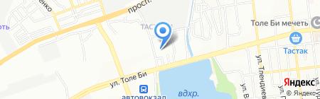 Semsae Plus на карте Алматы