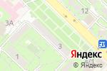 Схема проезда до компании AK beauty в Алматы