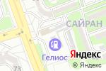 Схема проезда до компании strahoffka.kz в Алматы