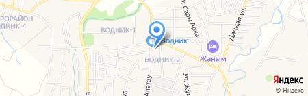 Айнаш на карте Боралдая