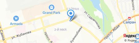 Алия продовольственный магазин на карте Алматы
