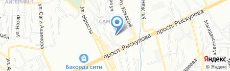 Люкс Биндер Сервис на карте Алматы