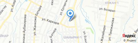 Детский сад №161 на карте Алматы