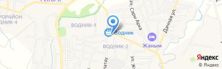 Халал магазин мясной продукции на карте Боралдая