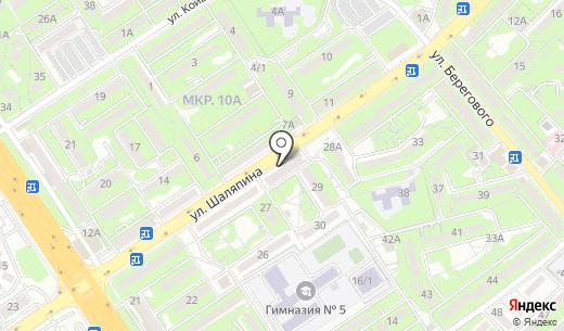 Доверие. Схема проезда в Алматы