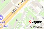 Схема проезда до компании Cocolady в Алматы