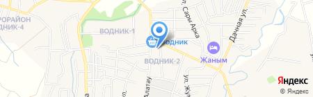 Карина на карте Боралдая
