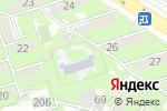 Схема проезда до компании Коррекционный ясли-сад №24 для детей с тяжелыми нарушениями речи в Алматы