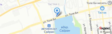 ОСИРИС на карте Алматы