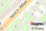 Схема проезда до компании Ма-Тур Казахстан в Алматы