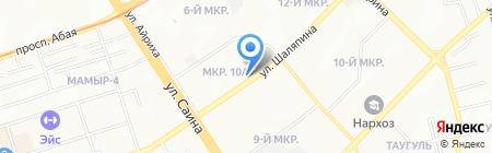 Ак Сауыт на карте Алматы