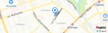 Эдит на карте Алматы