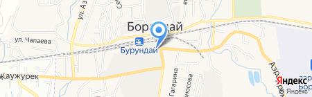 Ас-Ан на карте Боралдая