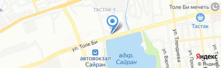 Маида на карте Алматы