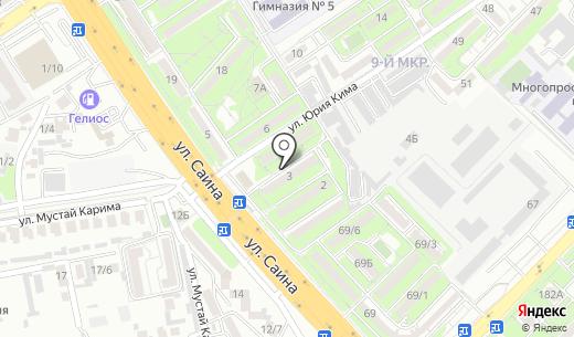 Олжа. Схема проезда в Алматы