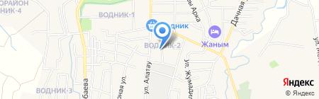 Оазис на карте Боралдая