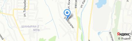 Болашак на карте Алматы