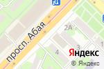 Схема проезда до компании BODYFITGYM в Алматы