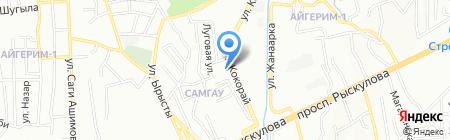 Максат на карте Алматы