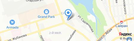 Автомойка на карте Алматы