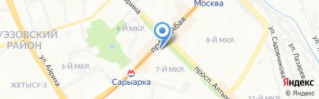 Сау Жардем на карте Алматы