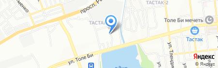 Асем продуктовый магазин на карте Алматы