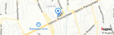 Алтай-БМ на карте Алматы