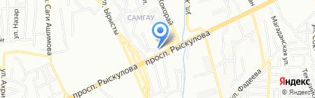 Уч-кудук на карте Алматы