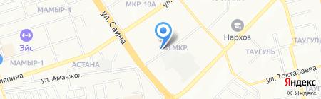 АлматыЭкологоСтрой на карте Алматы