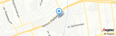 Нотариус Слепокурова А.М. на карте Алматы