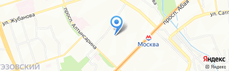 Ahrefa.kz на карте Алматы