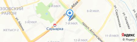 InService на карте Алматы