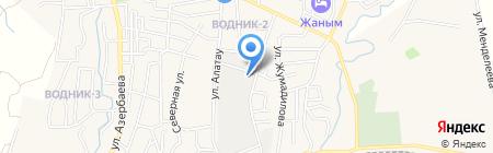 Боралдай-нан на карте Боралдая
