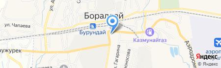 Kaspi bank на карте Боралдая