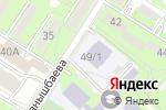 Схема проезда до компании Ясли-сад №135 в Алматы