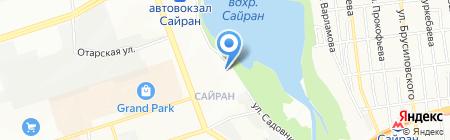Новая Школа на карте Алматы