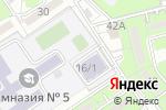 Схема проезда до компании Ясли-сад №134 в Алматы