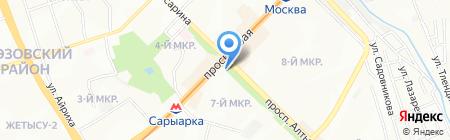 Участковый пункт полиции №31 Ауэзовского района на карте Алматы