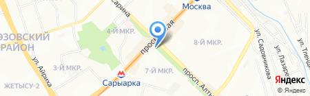 AP на карте Алматы