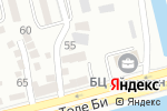 Схема проезда до компании Сайран в Алматы