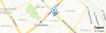 Золотой ключик на карте Алматы