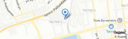 Maxim & C на карте Алматы