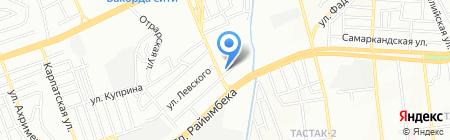 ЭГК на карте Алматы
