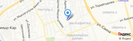 Altyn Kargaly на карте Алматы