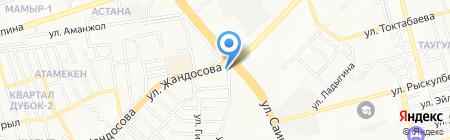 Дубок на карте Алматы